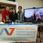 The NJ Makerspace Association brought a variety of projects from members, including a Makey Makey video experience. Photo credit: Sandra Roberts
