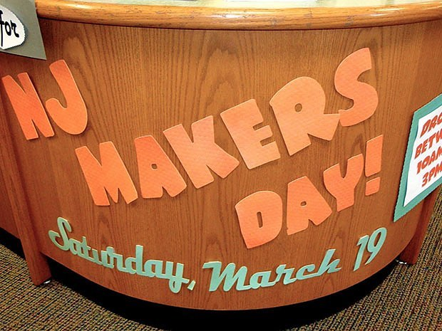 Over 250 libraries, schools, makerspaces and A.C. Moore craft stores all hosted activities for NJ Maker's Day 2016. (Photo credit Kelly Durkin.)