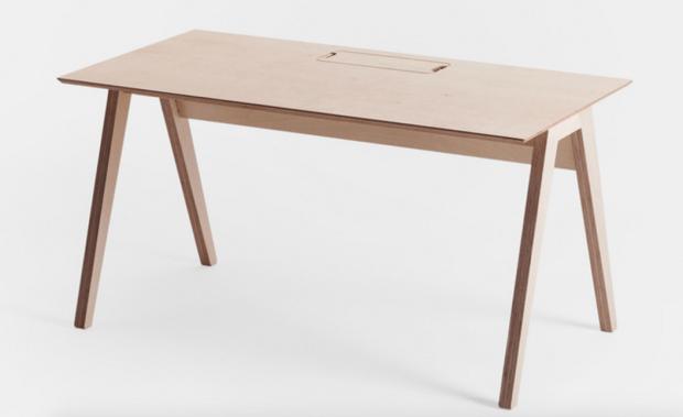 Open Desk Lean Desk, designed by Joni Steiner.