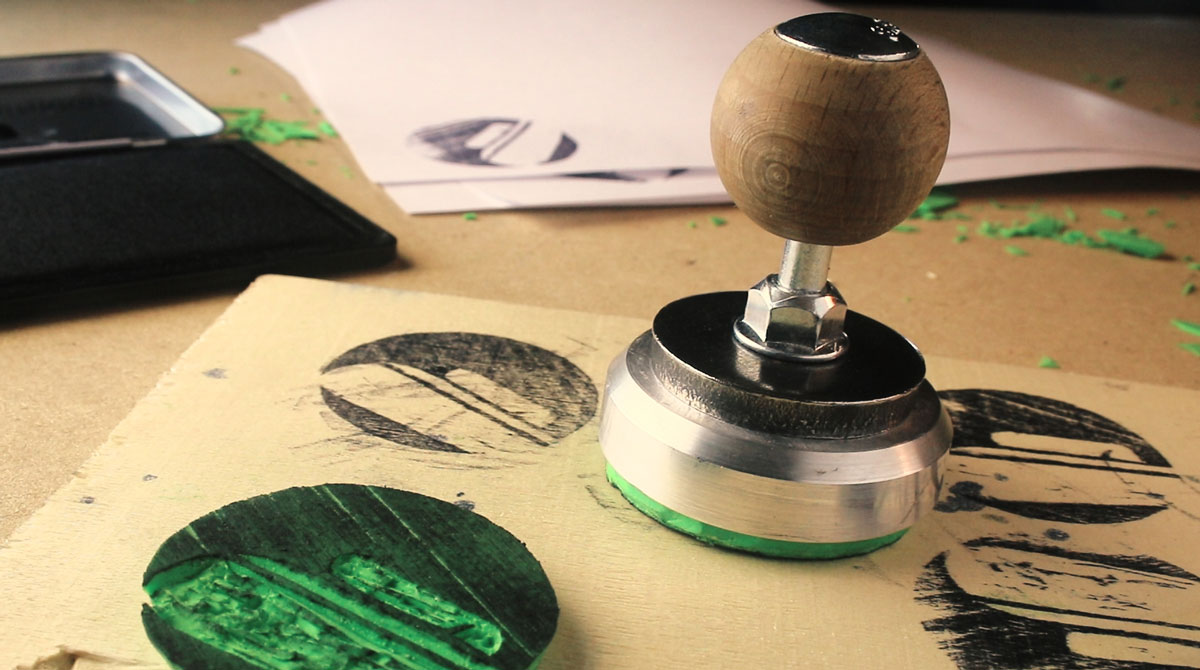 Upgrade Your DIY Rubber Stamps with Simple, Modern Handles