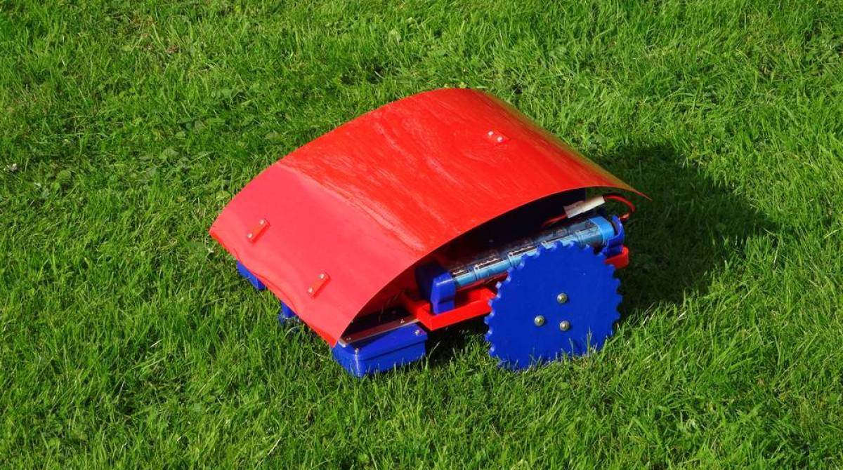 Can Your Really 3D Print a Working Robotic Lawnmower?