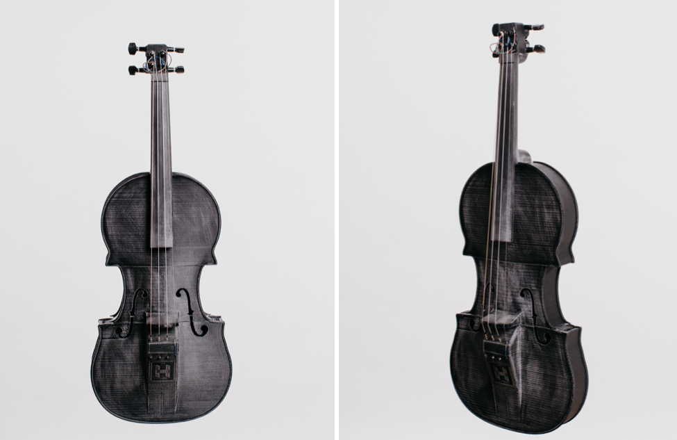 The Hovalin Is a 3D Printed Violin That Blends STEM and Music Education