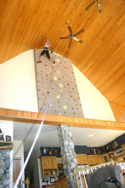 Diy rock climbing walls to bring the mountains closer to home