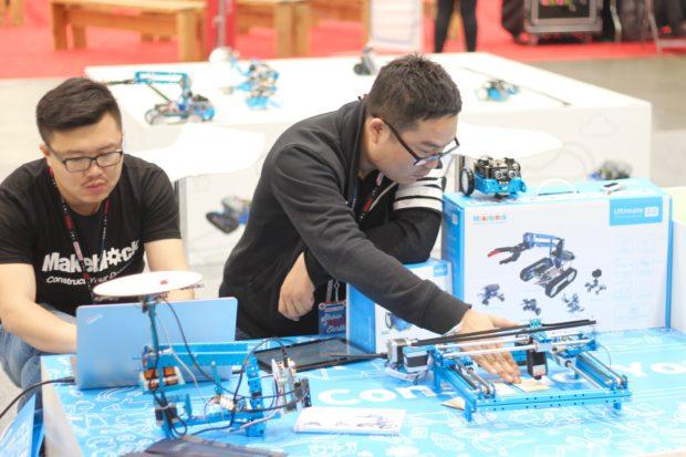 Building robots with Makeblock. (12:10pm, Alasdair Allan)