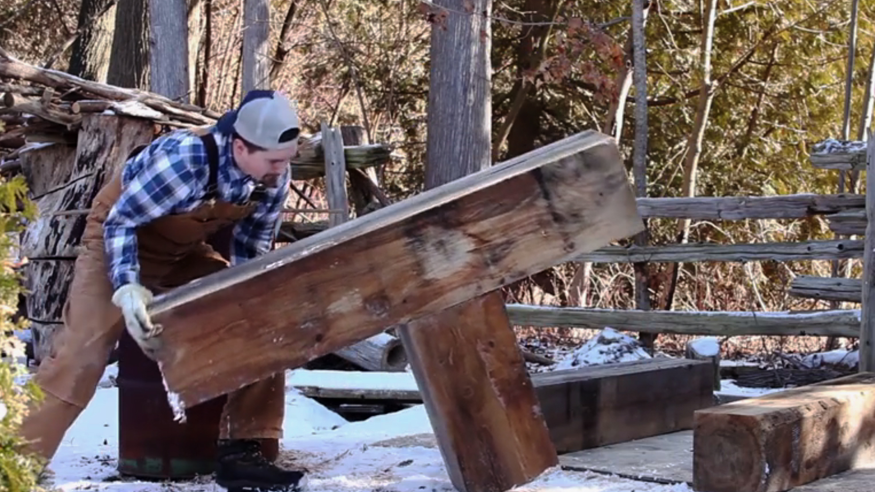 Weekend Watch: Transforming Timber with Trustin Timbers
