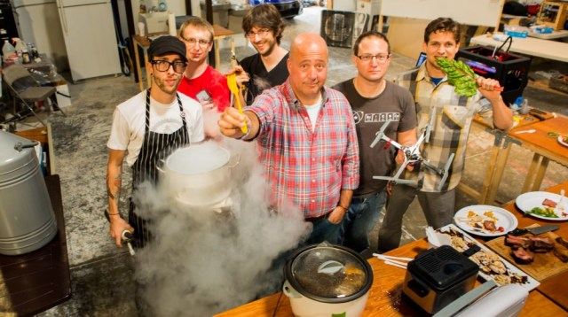 The Future Tastes Bright at the Hacklab with Andrew Zimmern