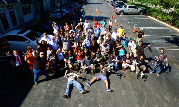 2015 International Drone Day at the Hacklab