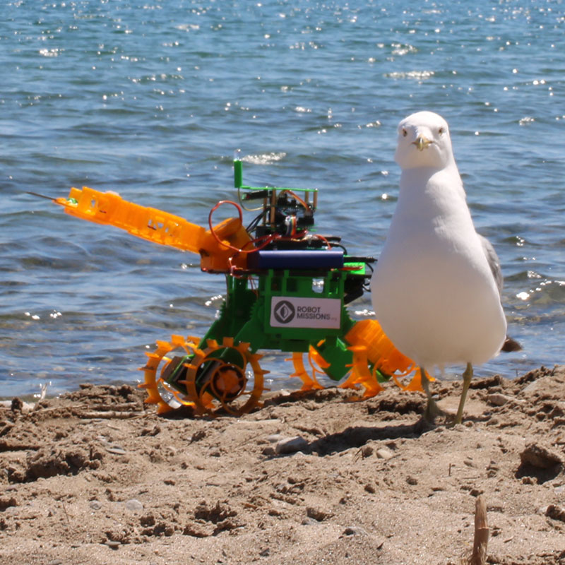 Follow Along with the Maiden Voyage of This Beach-Cleaning Robot