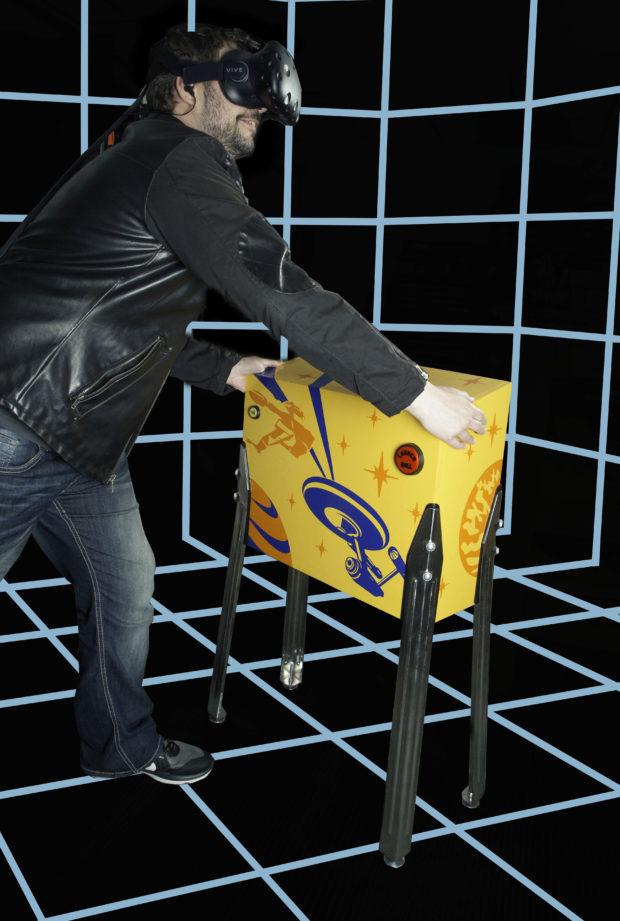 Play Pinball in Virtual Reality with Real Haptic Feedback | Make: