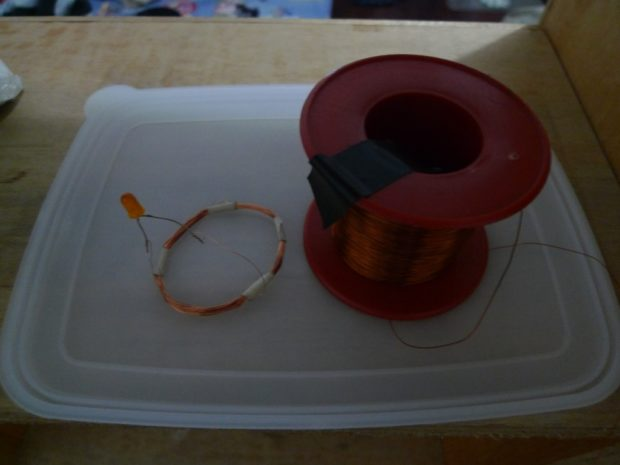 receiver and magnet wire