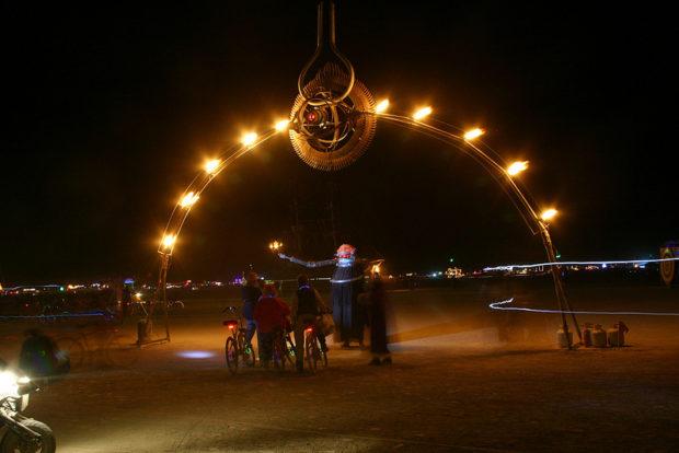 The Numinous Eye at Burning Man