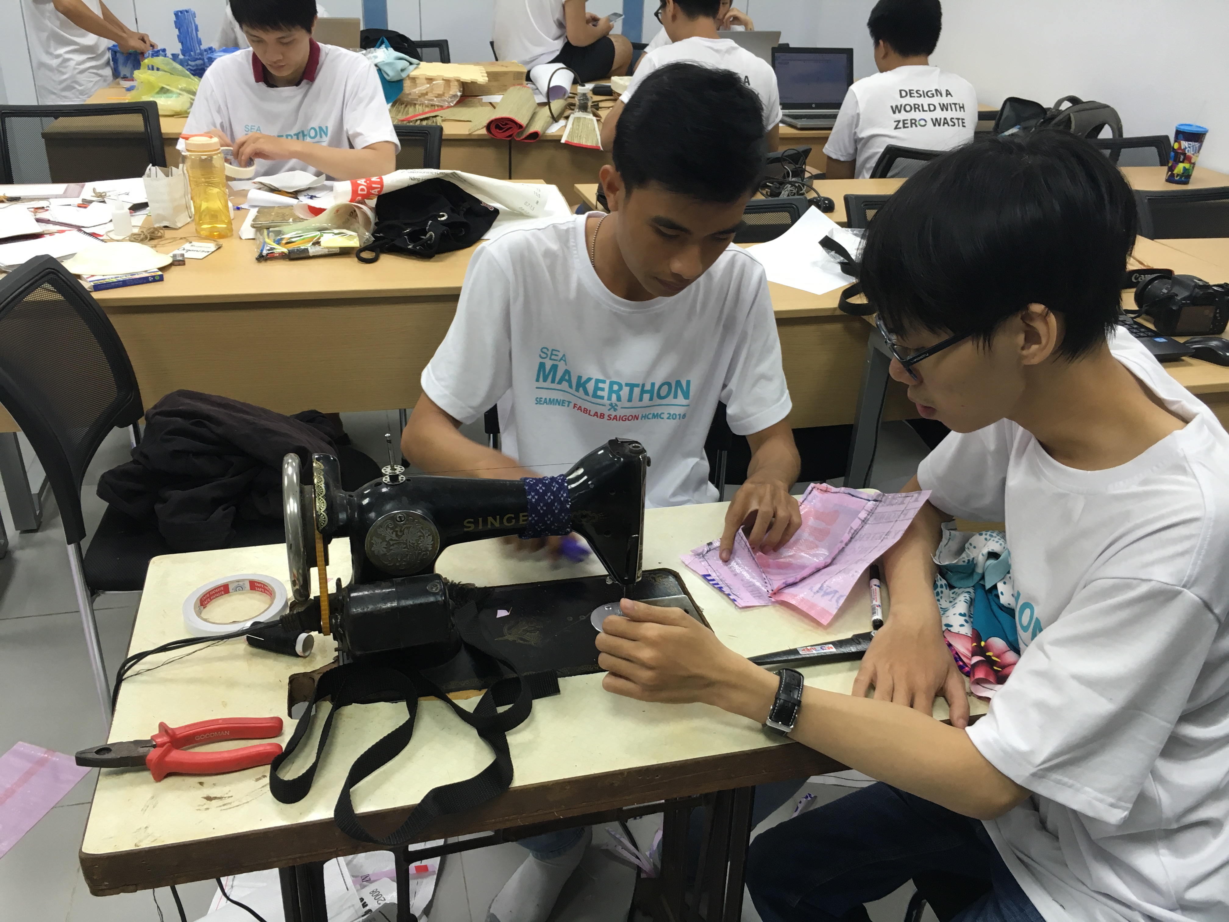 Summer-Long Southeast Asia Makerthon Tackles Sustainability Challenges
