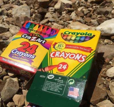 crayola crayon maker instructions