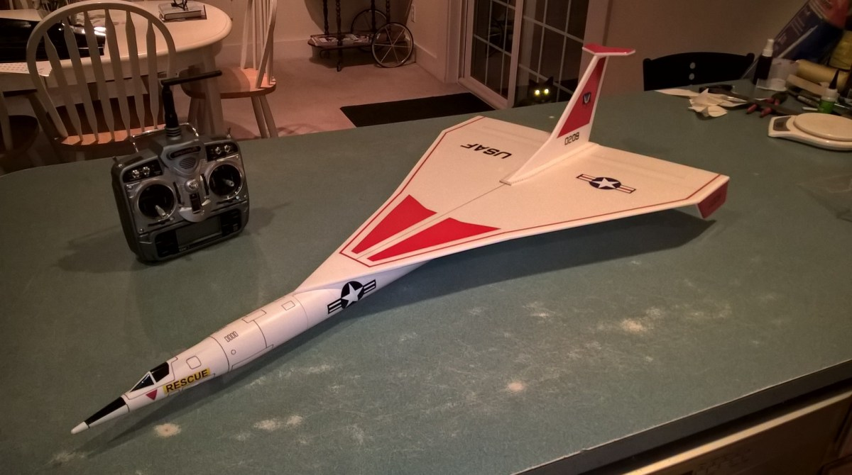 Launching and Flying Foam RC Rocket Gliders | Make:
