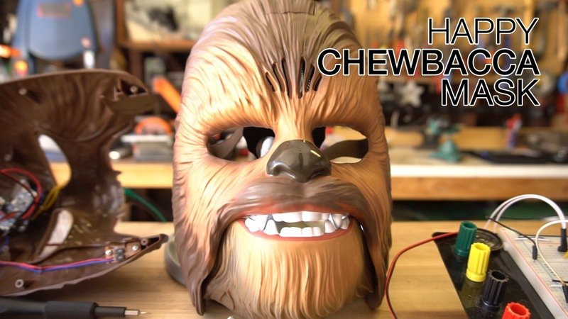 How to Hack a Talking Chewbacca Mask