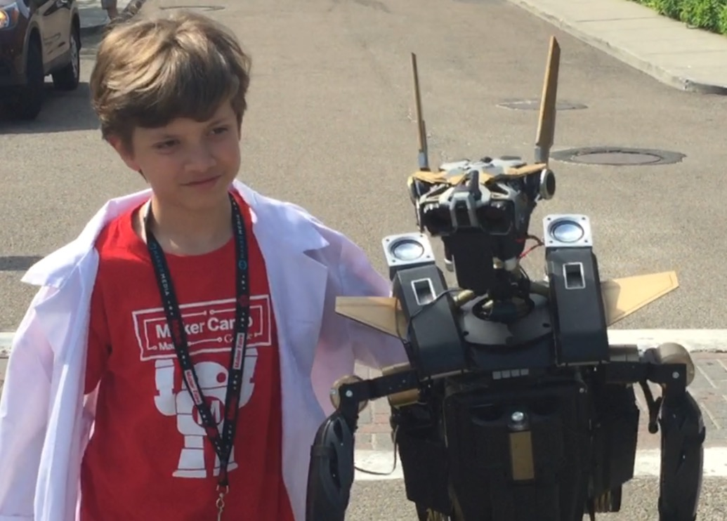 Volt: A Traveling Companion Robot I Built with my Dad