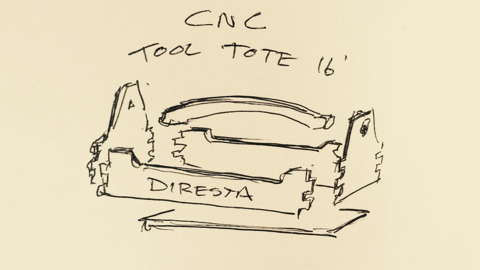 DiResta: CNC Tool Tote