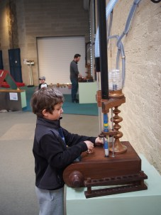 Pneumatic tubes, made with Chris Weisbart & Michael Wilson for the Santa Fe Children's Museum.