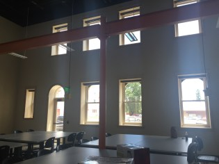 Miriam's new space, the Old Trolley Building Lab. Las Vegas, New Mexico.