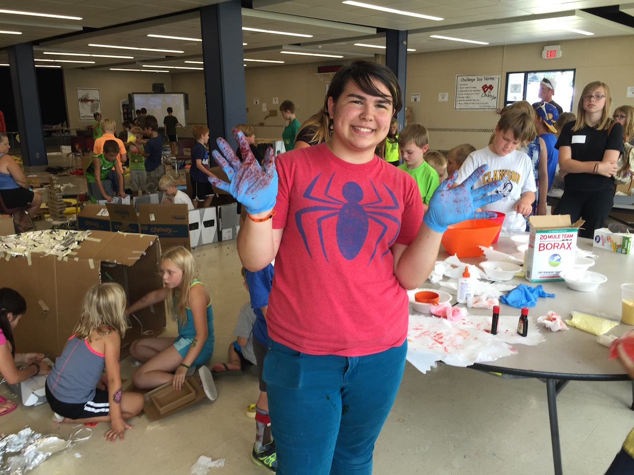 Nervous Organizer LOVED Her Maker Camp Experience