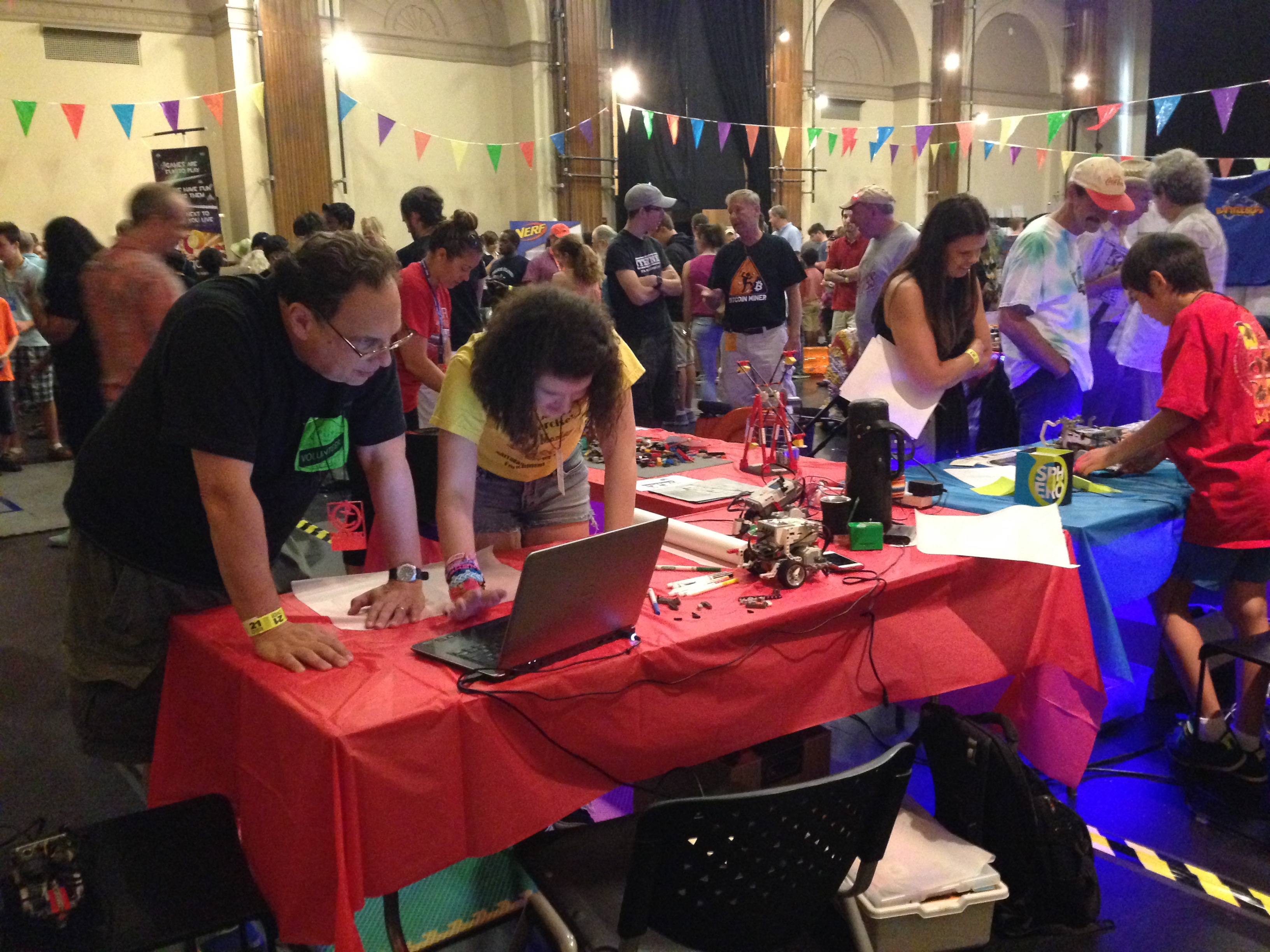 From the US Industrial Revolution to a Mini Maker Faire