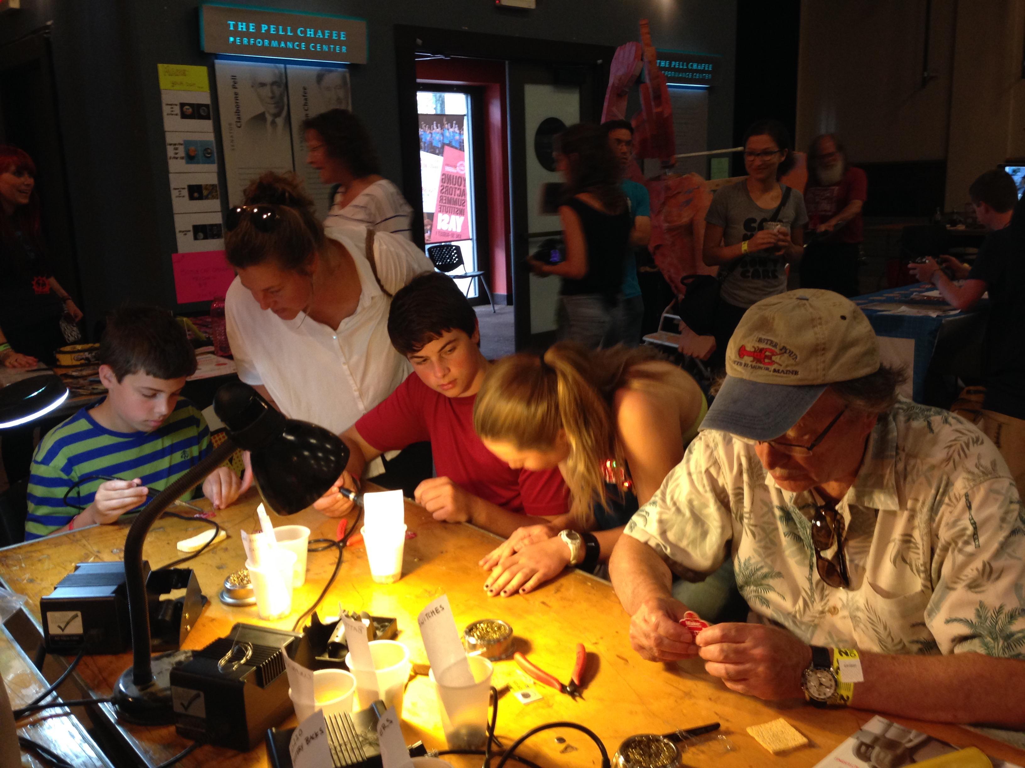 2015 RI Mini Maker Faire Photo by Mary Johnson