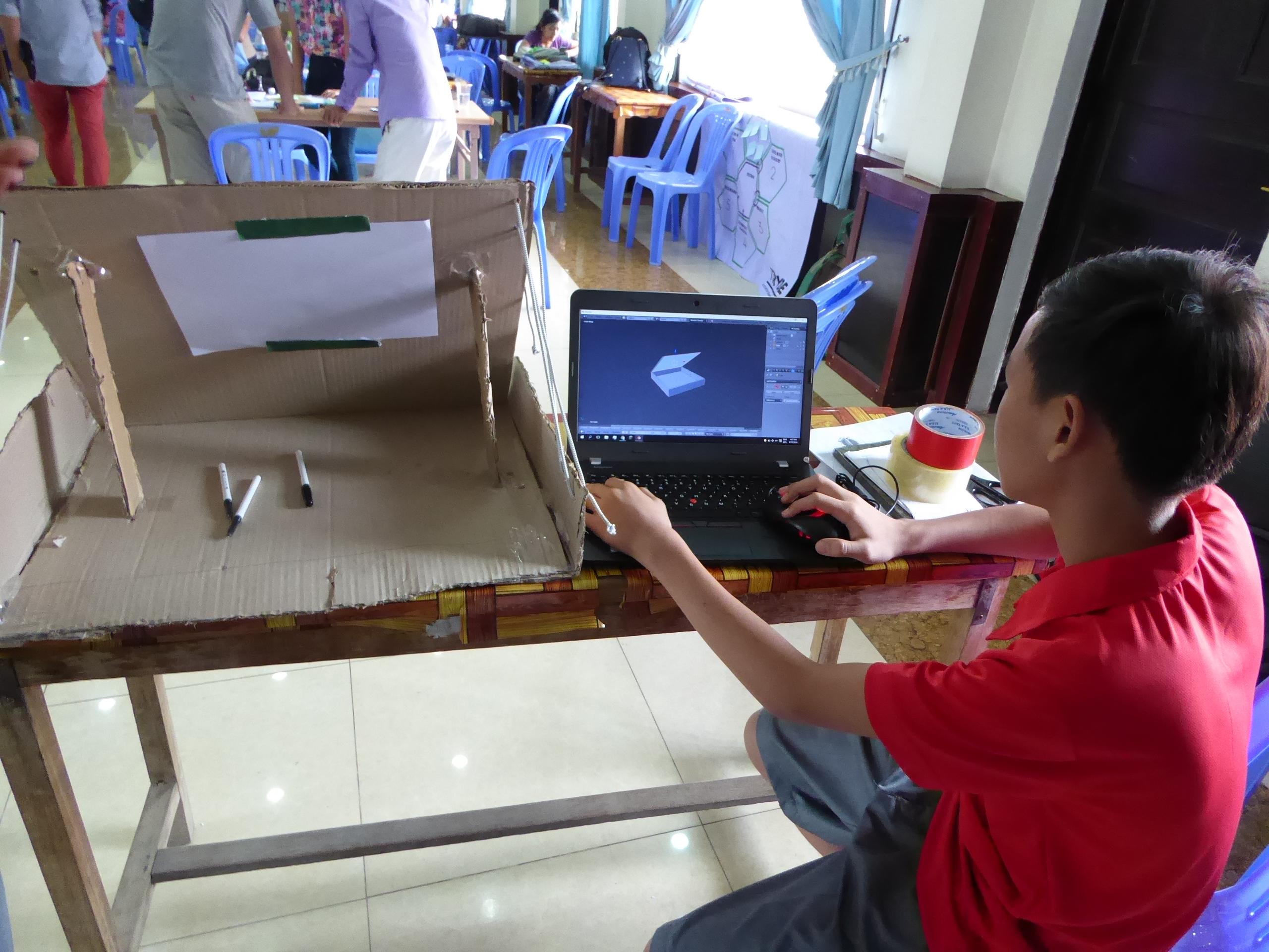 Making the Future in Cambodia