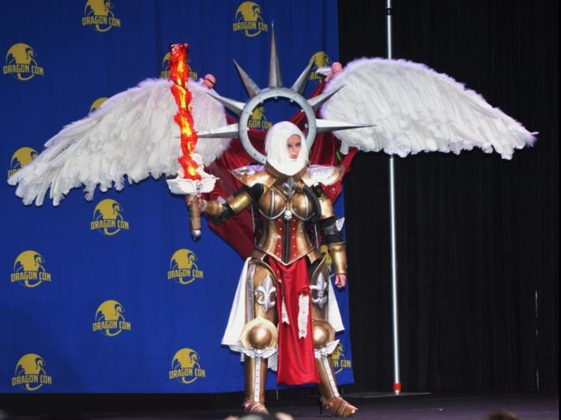 St. Celestine at Dragon Con. Photo: Chrissy of Engineering Couture