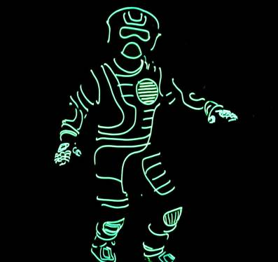 EL wire suit News, Reviews and More | Make: DIY Projects and Ideas ...