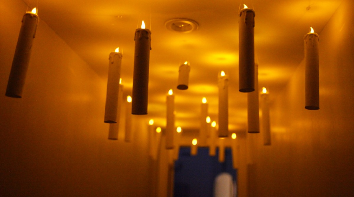 Make Your Own Harry Potter Floating Candles