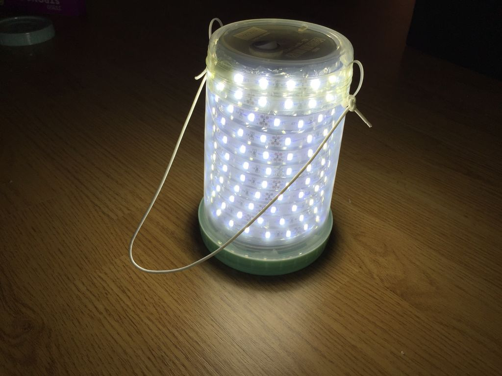 Make a Simple LED Camping Lantern
