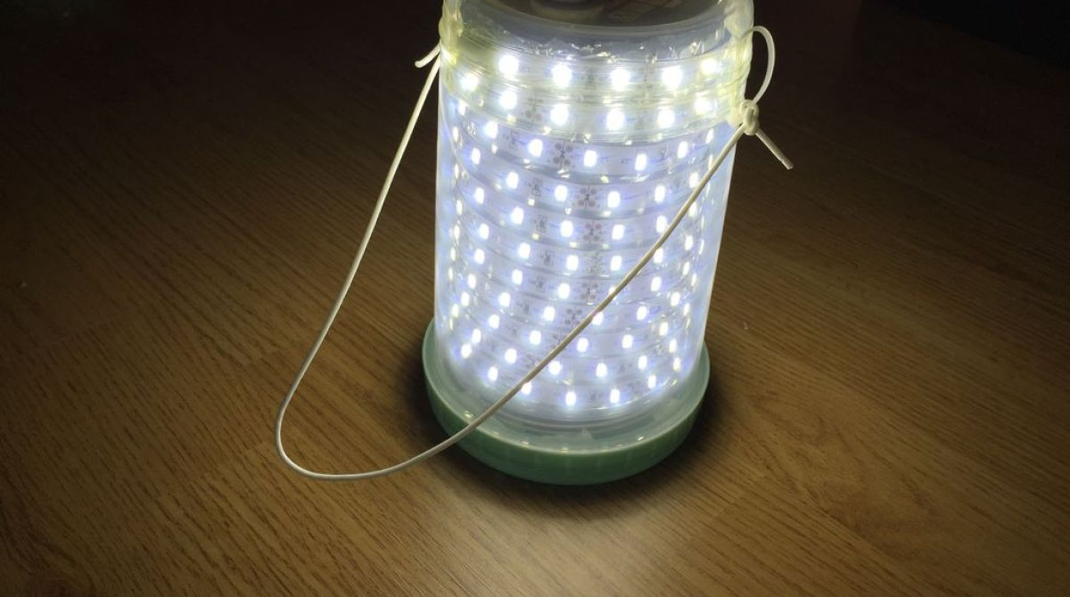 Make A Simple LED Camping Lantern