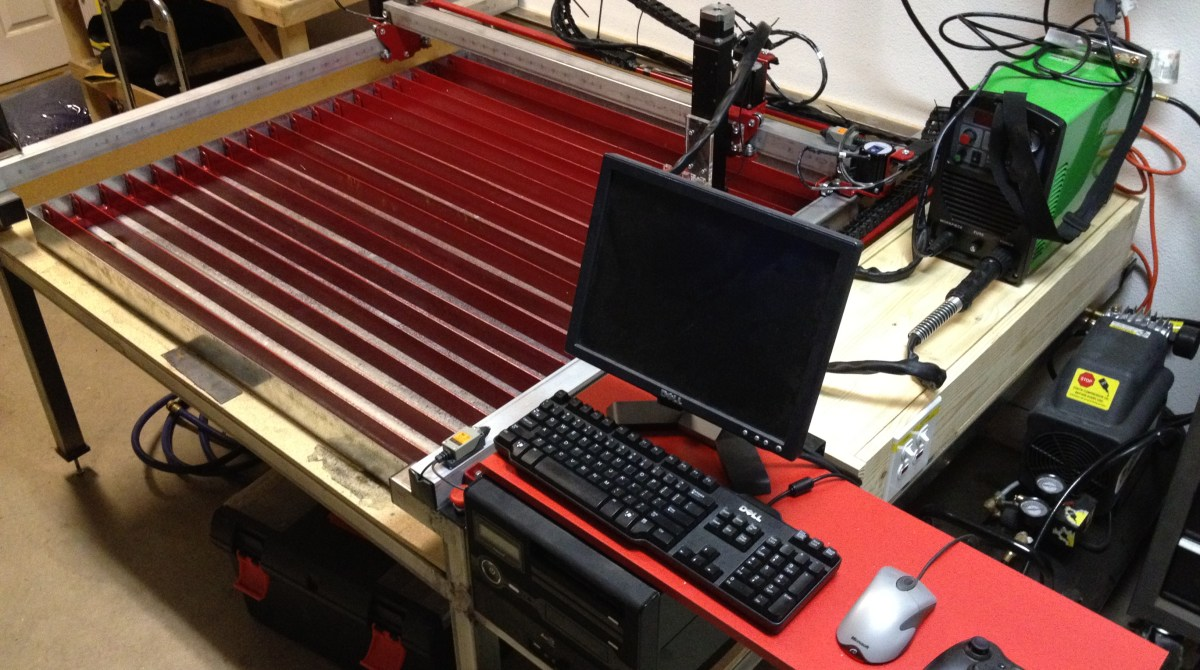 Construct A Cnc Plasma Cutter For 3000 Make