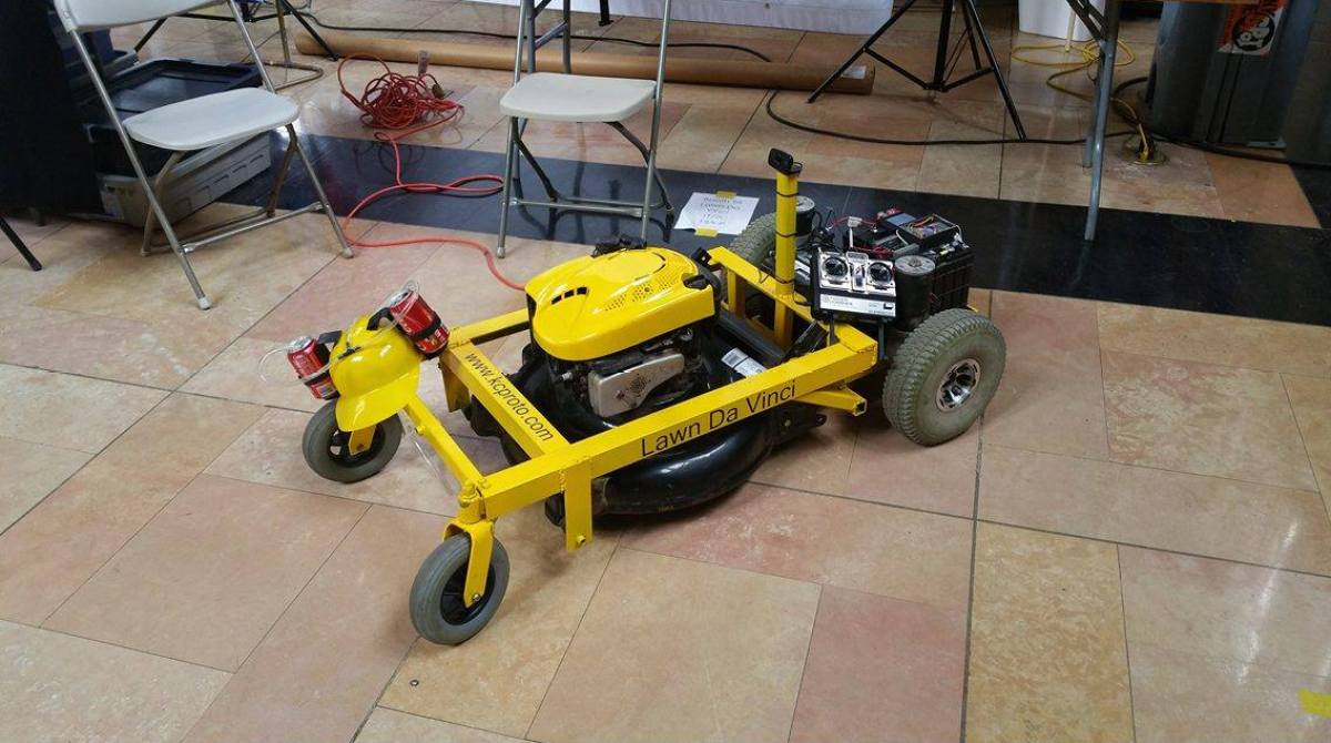 Build a Remote-Controlled Lawn Mower