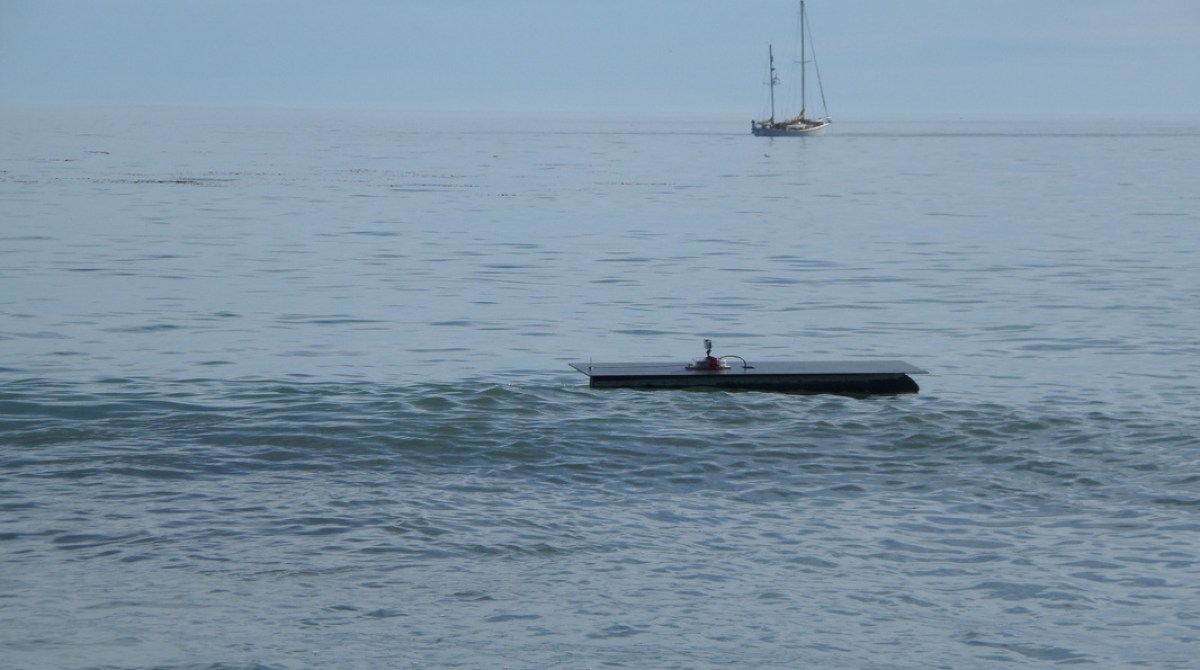 Did a Solar-Powered Autonomous Boat Just Cross the Pacific
