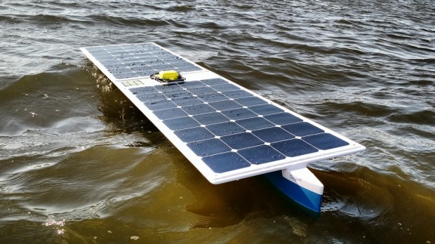 Did A Solar Powered Autonomous Boat Just Cross The Pacific