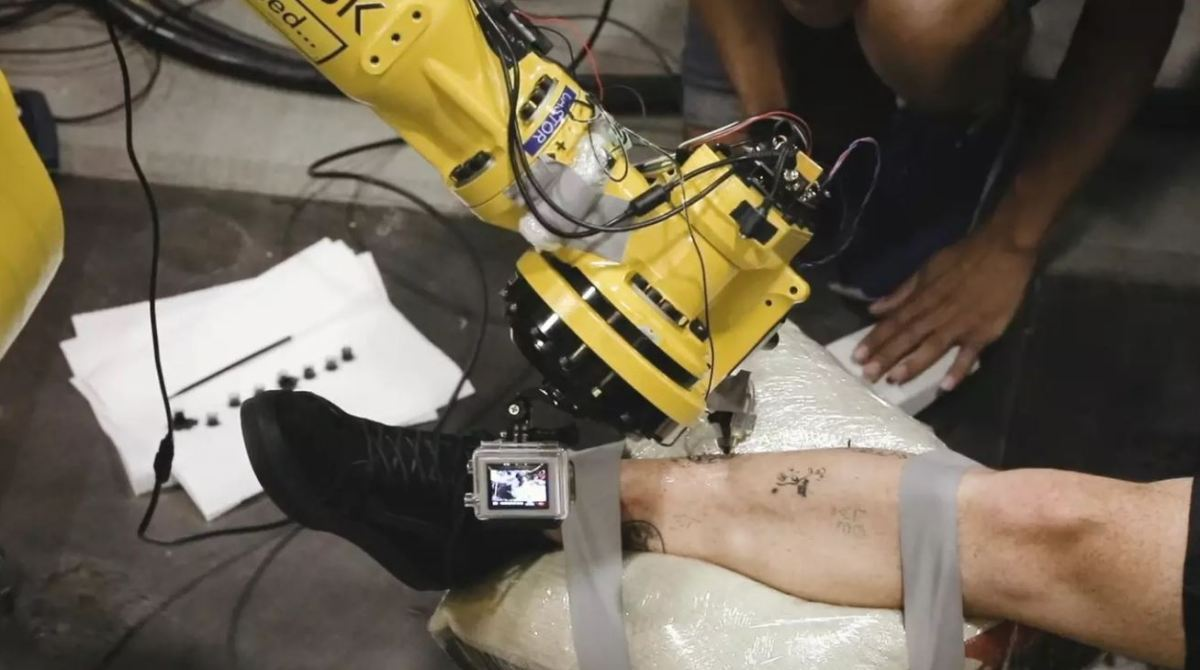 Are Robots The Future Of The Tattoo Industry Make