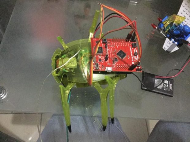 RegioAlpha's HEXBUG Scarab XL robot combines the popular toy with TI's Tiva-C LaunchPad to give it increased functionality
