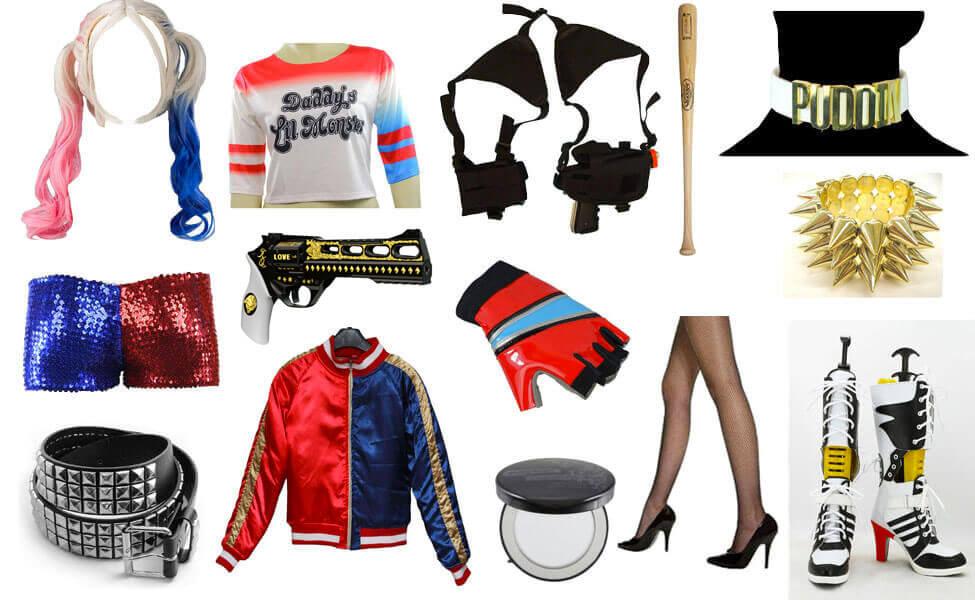 Harley Quinn Cosplay - via Carbon Costume