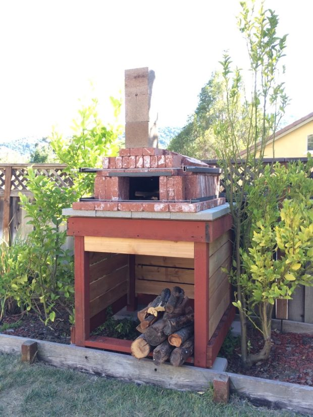 Build In One Day Arched Brick Pizza Oven Make