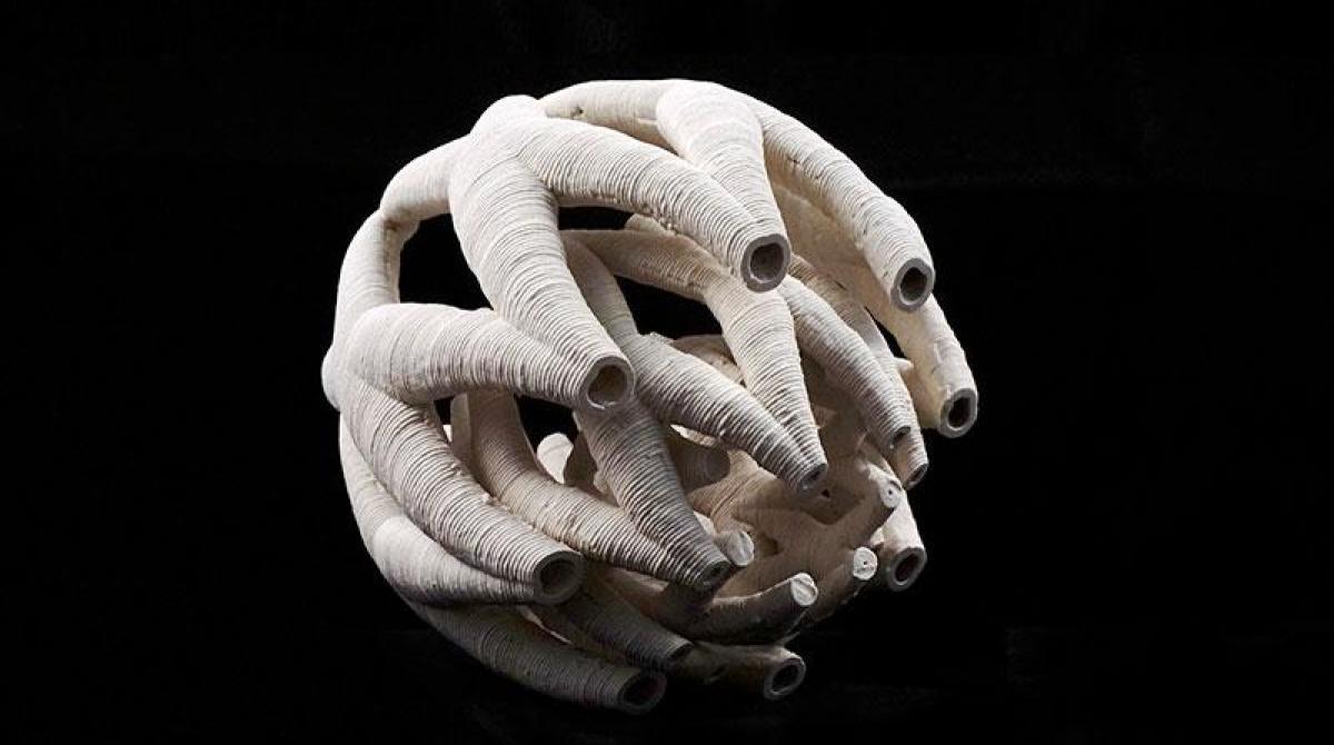 This Custom Machine 3D Prints Incredible Ceramic Sculptures | Make: