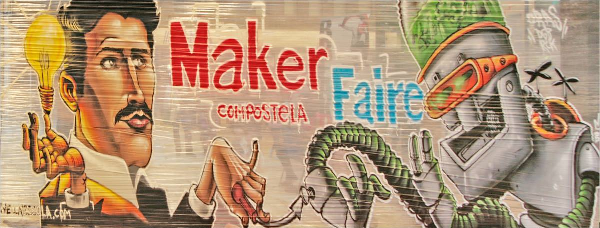 Chemistry, Music, and Parkour Blend at Maker Faire Galicia