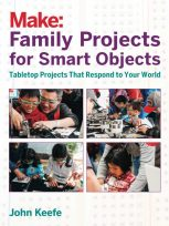 This article is excerpted from Family Projects for Smart Objects, which contains 11 fun Arduino builds perfect for young makers. Find it at the Maker Shed (makershed.com) and fine bookstores.