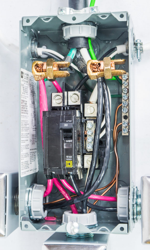 Figure 25 – Completed adapter wiring
