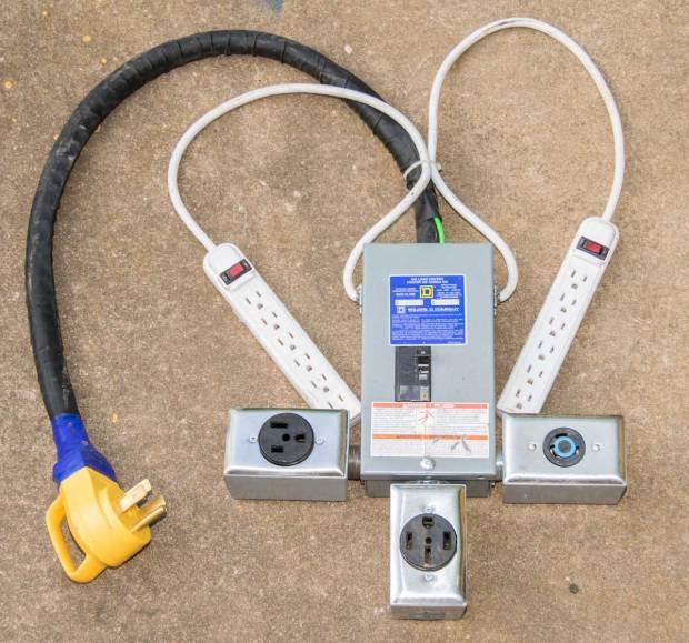 Figure 9: My custom-built adapter