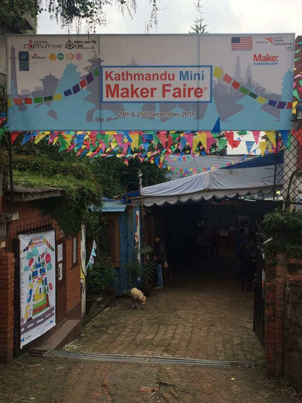 The Kathmandu Mini Maker Faire is the first of its kind — with a specific focus humanitarian efforts.