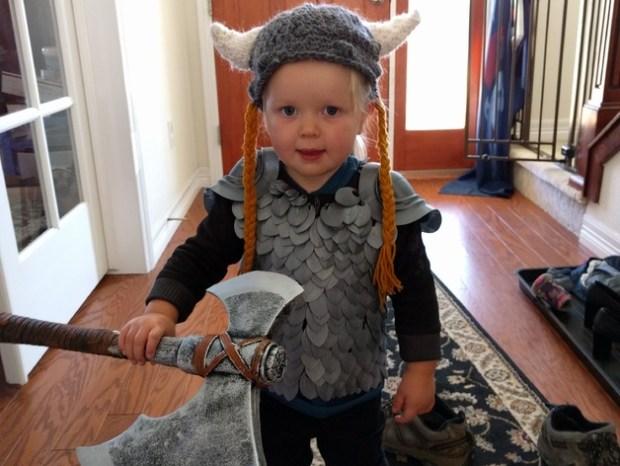 Auerlia, Warrior of Valhalla (Scale Mail Armor)
