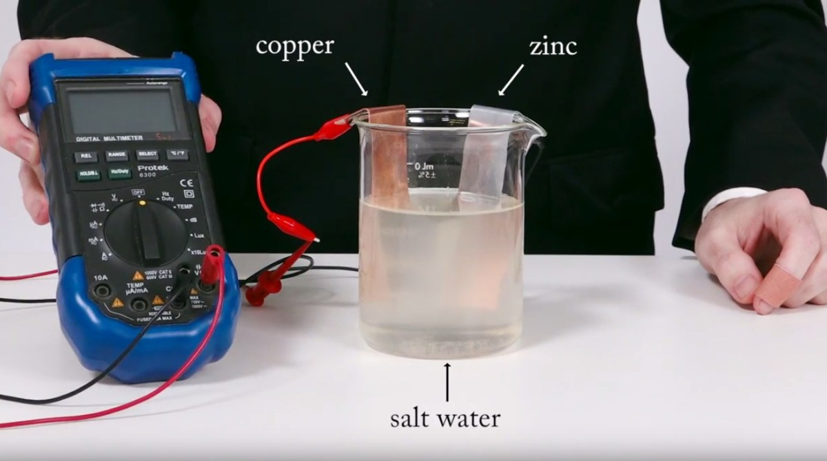 The History of Batteries on Collin's Lab