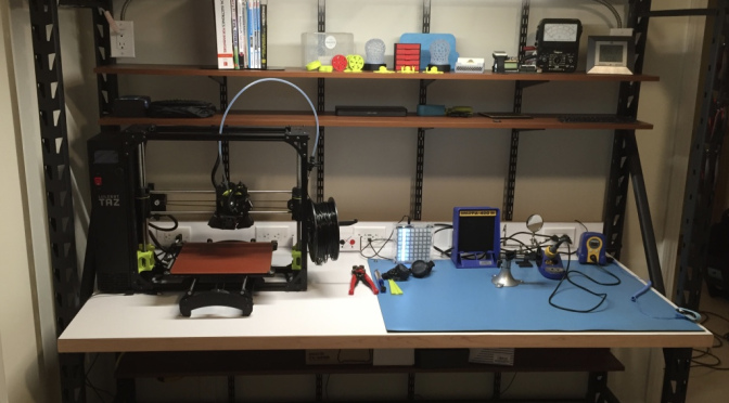 Moving from the Dining Table to a Dedicated Electronics Workbench