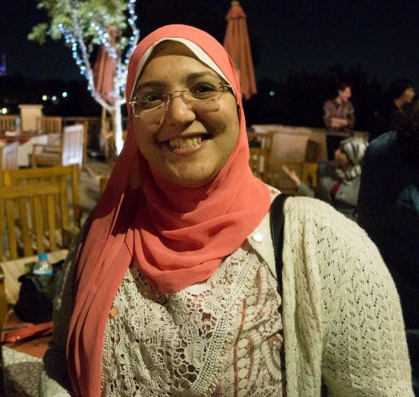 May El-Dardiry works as a teacher at Maadi STEM School for Girls.